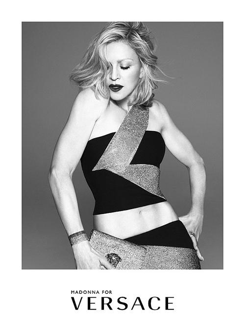 Madonna para Versace - reemplaza a Lady Gaga