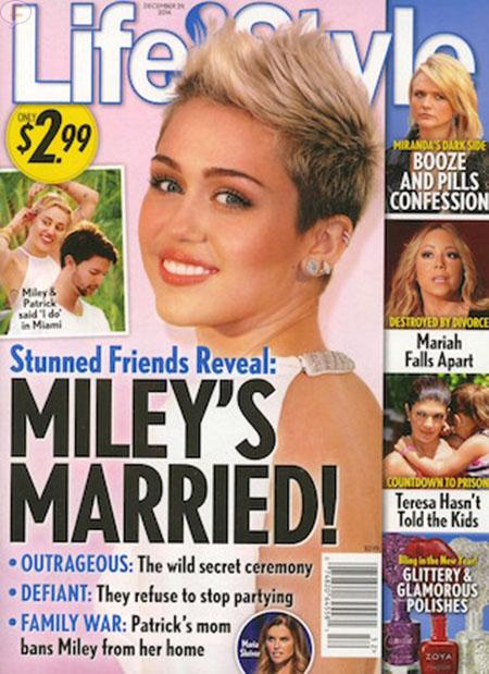 Miley y Patrick casados!! - Really? Nope!