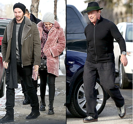 Miley conoce a el padre de Patrick - Arnold approves!