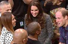 Beyonce y Jay Z conocen a los Duques de Cambridge