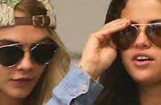 Selena Gomez y Cara Delevingne navidad juntas!