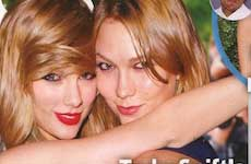 El escandaloso romance de Taylor y Karlie Kloss