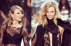 Taylor Swift besando a Karlie Kloss?? REALLY?