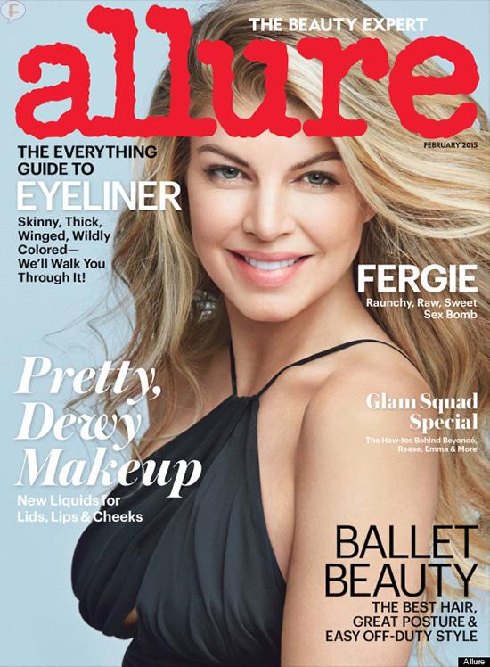 Fergie STUNNING en Allure magazine