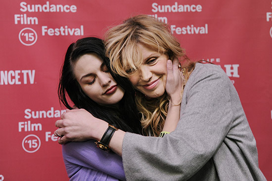 Courtney Love admite heroina embarazada