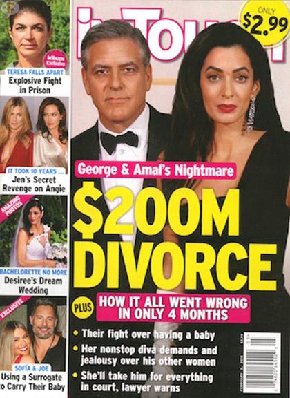 George Clooney y Amal: El divorcio de 0 millones