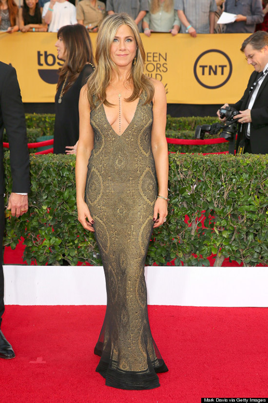 Jennifer Aniston en los SAG Awards 2015 - Hot o Nay