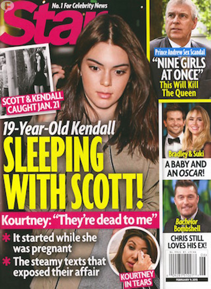 ESCÁNDALO!! Kendall Jenner durmiendo con Scott Disick!!