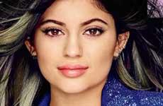 Kylie Jenner (y su bocota) en Cosmopolitan