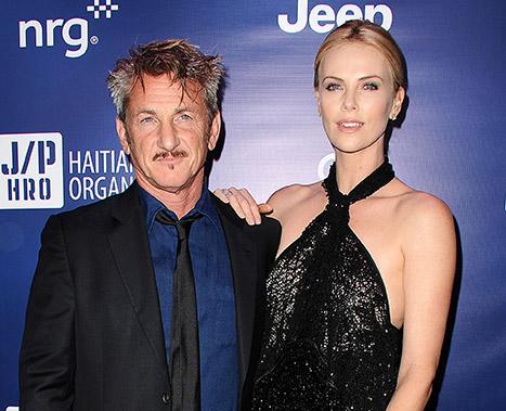 Sean Penn adopta al hijo de Charlize Theron