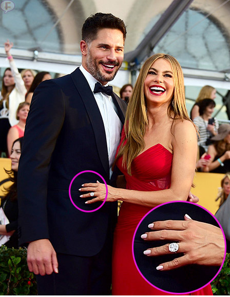Sofia Vergara y Joe Manganiello en los SAG Awards 2015