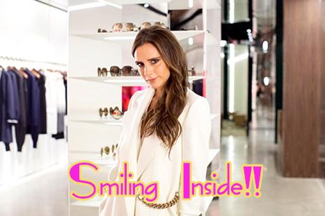 Victoria Beckham revela por que nunca sonrie