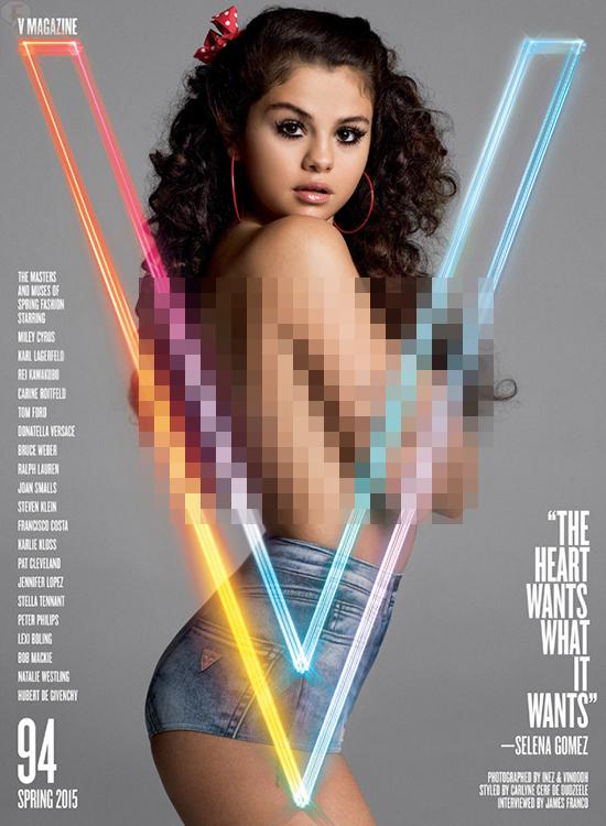 Selena Gomez habla de su primer amor, depresion [V magazine]