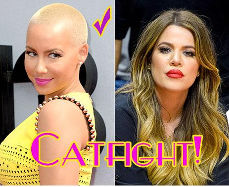 Amber Rose & Khloe Kardashian se pelean en Twitter - Amber wins!