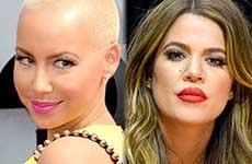 Amber Rose & Khloe Kardashian se pelean en Twitter – Amber wins!