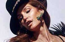 Filtran foto sin PHOTOSHOP de Cindy Crawford