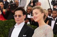 Johnny Depp y Amber Heard se casaron!