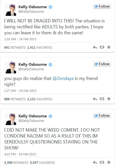 Zendaya disculpa a Giuliana Rancic por sus comentarios