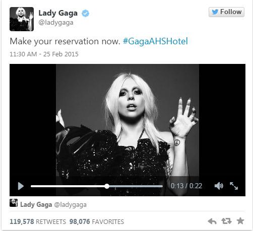 Lady Gaga protagonizará American Horror Story: Hotel