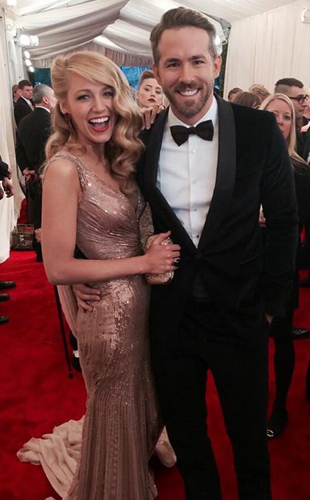La hija de Ryan Reynolds y Blake Lively se llama James?