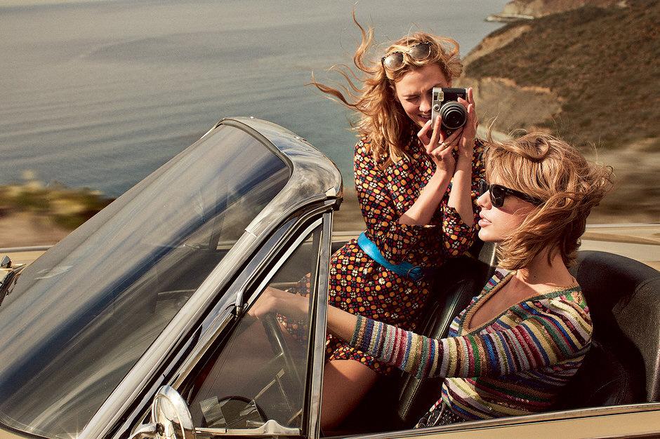 Taylor Swift y Karlie Kloss en Vogue magazine