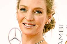 Uma Thurman luce diferente: Cirugía o maquillaje?