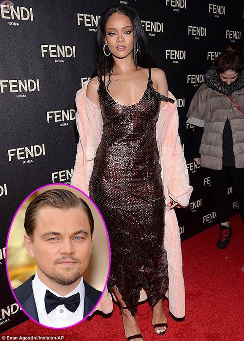 Rihanna niega romance con Leo Dicaprio
