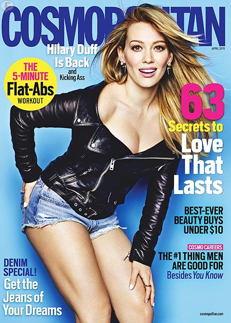 Hilary Duff habla de su matrimonio fallido [Cosmo]