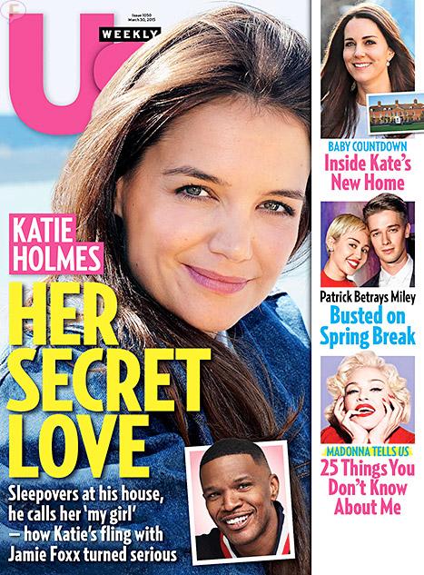 Jamie Foxx niega romance con Katie Holmes