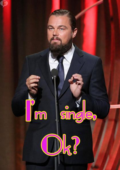 Leonardo DiCaprio niega relación con Rihanna