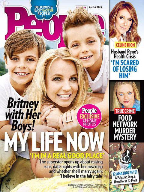 Britney Spears y sus hijos! Su vida ahora [People]