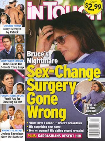 Bruce Jenner: Cirugía de cambio de sexo sale mal! [InTouch]