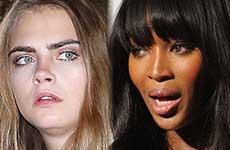 Naomi Campbell y Cara Delevingne se pelean? CATFIGHT!