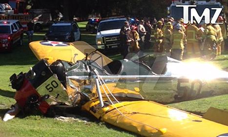 Harrison Ford sufre accidente con su avioneta