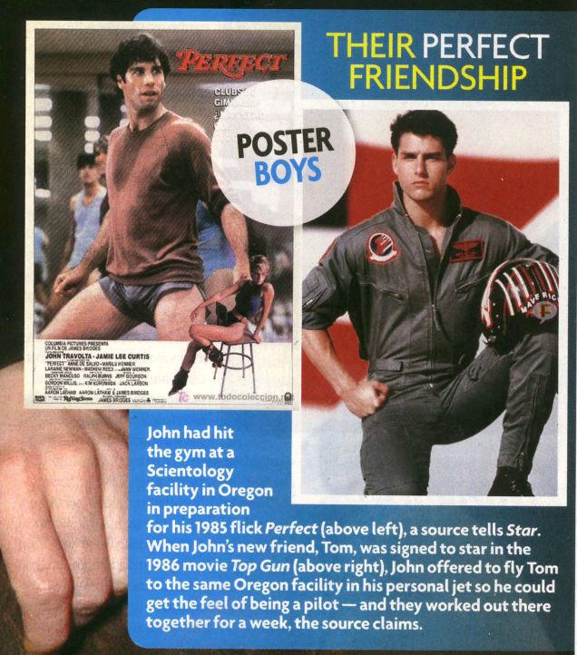 Tom Cruise & John Travolta: 30 años de un secreto gay [Star]