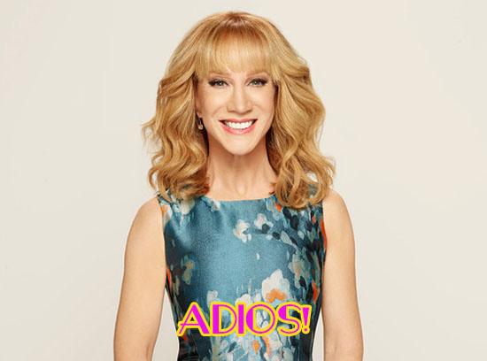 Kathy Griffin se va de Fashion Police!