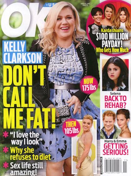 Kelly Clarkson: No me llamen GORDA! [OK!]