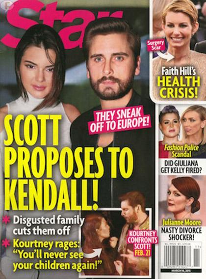 Scott Disick le pide matrimonio a Kendall? LOL! [Star]