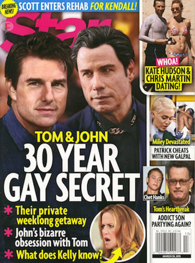Tom Cruise & John Travolta: 30 años de un secreto gay [Star]