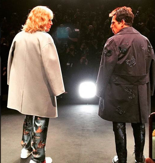 Zoolander is back!! Paris Fashion Week!