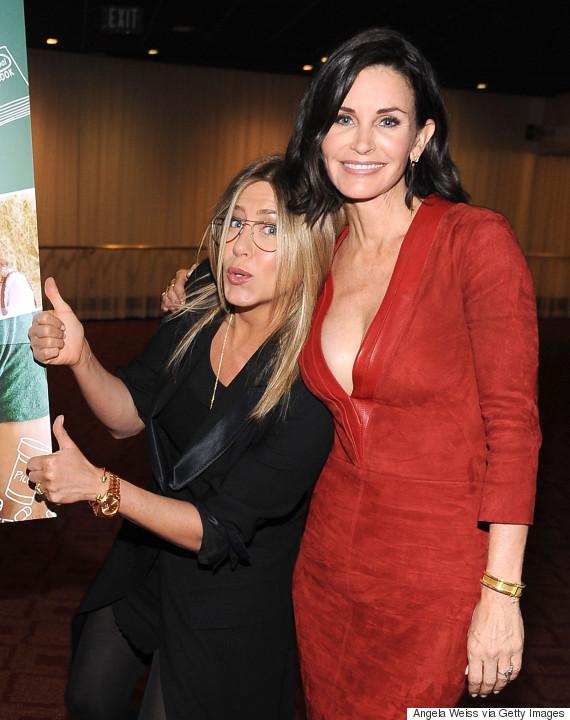 Jennifer Aniston y Courteney Cox siguen siendo FRIENDS!