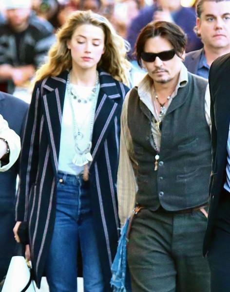 Johnny Depp y Amber Heard ya tienen problemas?