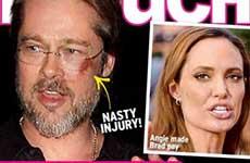 Brad Pitt desnudo con otra mujer! [Chismes de InTouch]