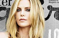 Charlize Theron: Sean Penn is HOT! [Esquire]