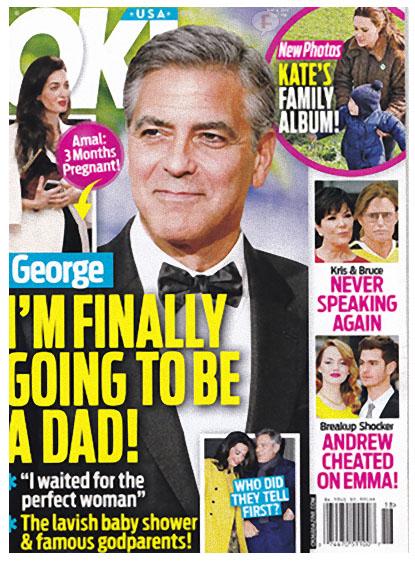 George Clooney finalmente será padre - OK!