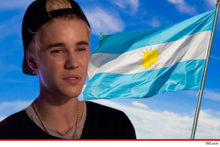justin bieber argentina tmz
