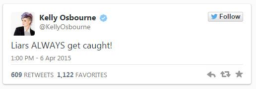 Kelly Osbourne llama mentirosa a Giuliana Rancic? CATFIGHT!