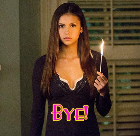 Nina Dobrev deja la serie The Vampire Diaries