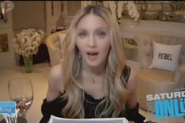 Madonna insulta a Drake por lo del beso? Yeah!