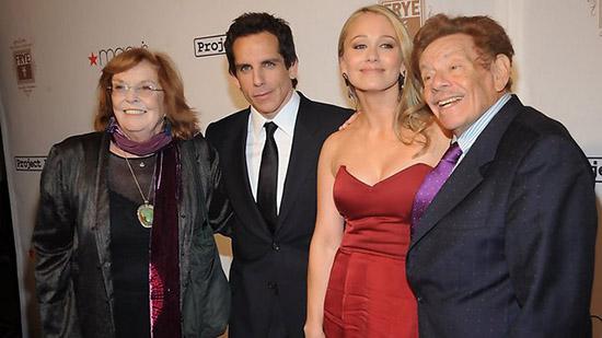 Falleció Anne Meara, madre de Ben Stiller